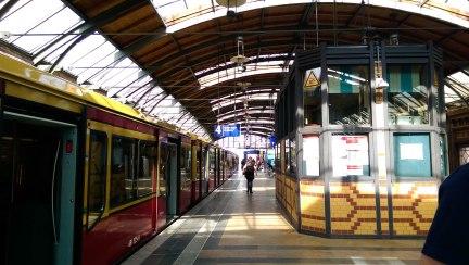 An S-Bahn Station