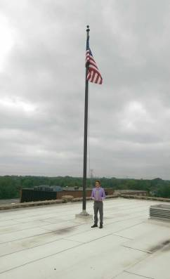 First day on the job and I already made it on the roof!